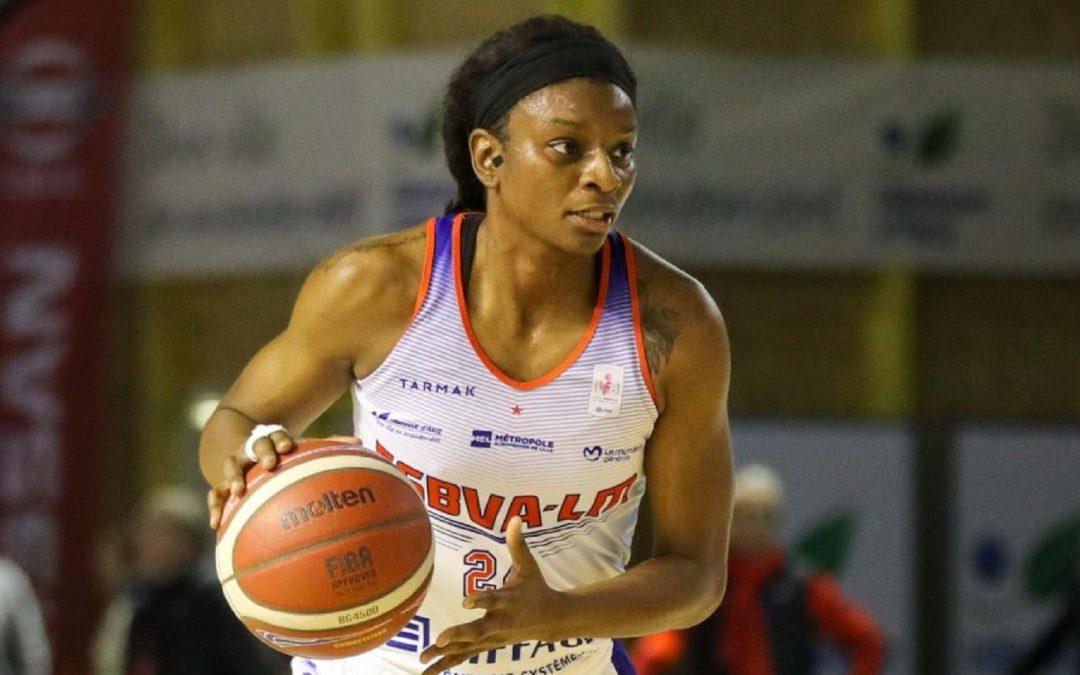Keisha Hampton zagra dla Polkowic