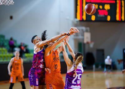 CCC Polkowice - KS Basket 25 Bydgoszcz (58)