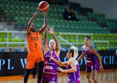 CCC Polkowice - KS Basket 25 Bydgoszcz (62)